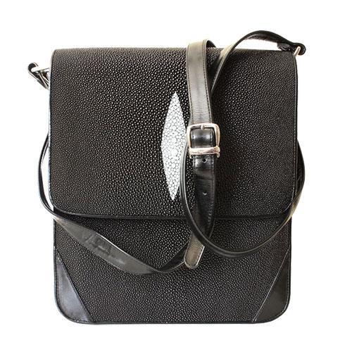Мужские сумки из кожи ската