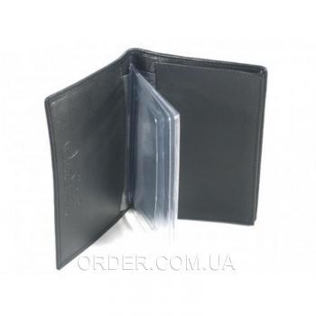 Обложка для документов из кожи ската River (NTR 19 Black)
