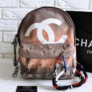 Рюкзак Chanel Graffiti Backpack Medium (9690) реплика