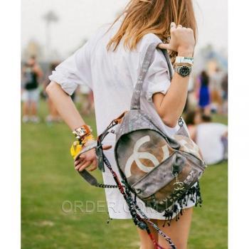 Рюкзак Chanel Graffiti Backpack Medium (9690) реплика