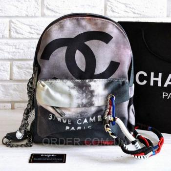 Рюкзак Chanel Graffiti Backpack Medium (9700) реплика