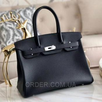 Женская сумка HERMES BIRKIN BLACK 35 CM (3769) реплика