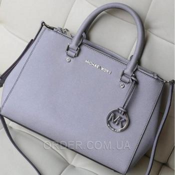 Женская сумка Michael Kors Medium Sutton Grey (5510) реплика