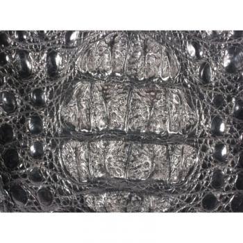 Женская сумка из кожи крокодила River (BCM 357 black)