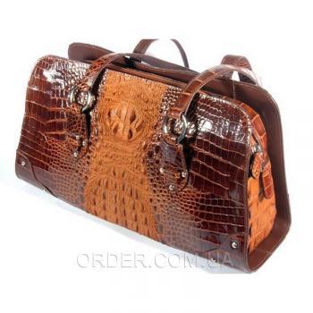 Женская сумка из кожи крокодила River (BMT 357)