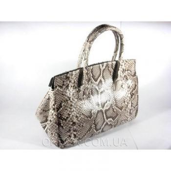 Женская сумка из кожи питона River (PT 122-03 G Natural)
