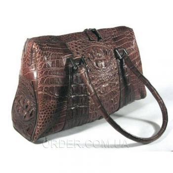 Женская сумка из кожи крокодила River (BMT 706 Kango)