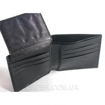 Кошелёк из кожи ската River (ST 005 RS Black)