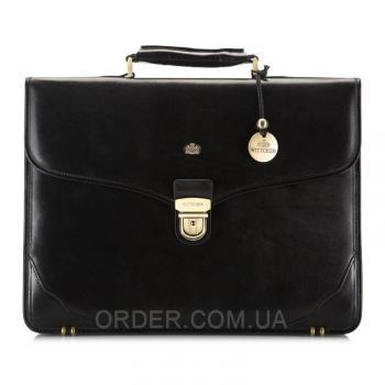 Кожаный мужской портфель Wittchen (10-3-009-1)