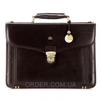 Кожаный мужской портфель Wittchen (10-3-010-4)