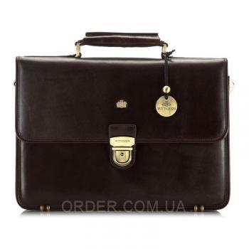 Кожаный мужской портфель Wittchen (10-3-050-4)