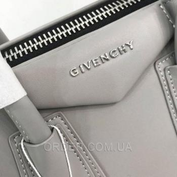 Женская сумка Givenchy Antigona Mini Bag Grey (2928) реплика