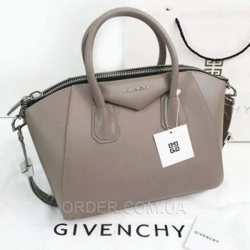 Женская сумка Givenchy Antigona Bag Coffee (2927) реплика