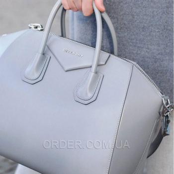 Женская сумка Givenchy Antigona Grey (2929) реплика