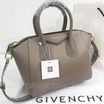 Женская сумка Givenchy Antigona Mini Bag Coffee (2926) реплика