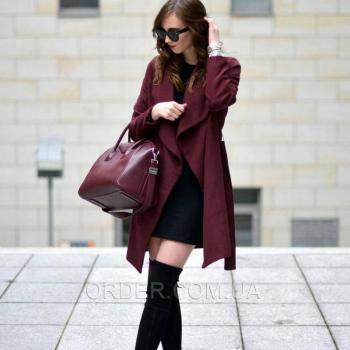 Женская сумка Givenchy Antigona Bag Burgundy (2925) реплика