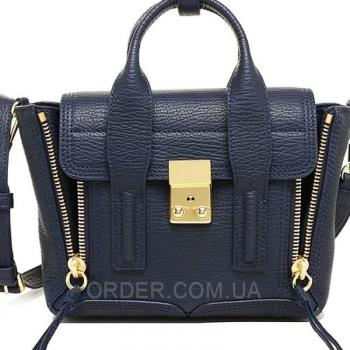 Женская сумка 3.1 Phillip Lim Mini Pashli Navy Blue (1906) реплика