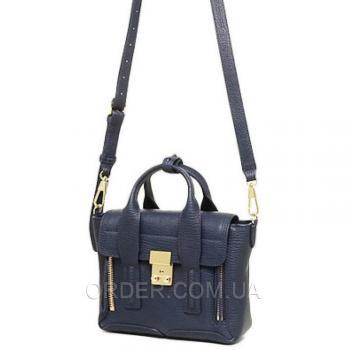 Женская сумка 3.1 Phillip Lim Mini Pashli Navy Blue (1906) реплика