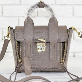 Женская сумка 3.1 Phillip Lim Mini Pashli Coffee (1902) реплика