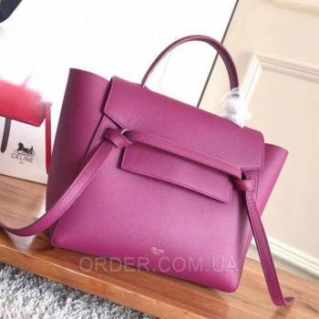 Женская сумка Celine Belt Bag Fuchsia (7347) реплика