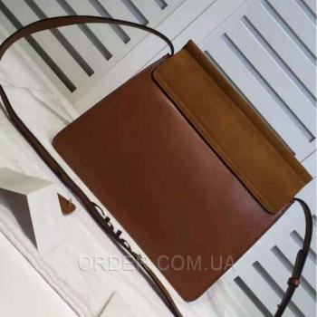 Женская сумка Chloe Faye Large Brown Bag (2080) реплика
