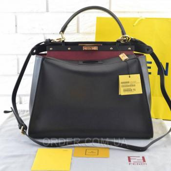 Женская сумка Fendi Peekaboo Large Satchel (2660) реплика