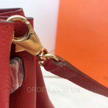 Женская сумка Hermes Birkin Red 30 cm (3780) реплика