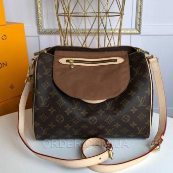 Женская сумка Louis Vuitton Speedy Monogram Canvas (4053) реплика