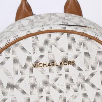 Женский рюкзак Michael Kors Abbey Vanilla Backpack (5760) реплика