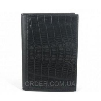 Обложка для паспорта и автодокументов из кожи крокодила River (NTCM 20-T)