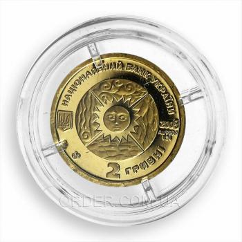 Золотая монета знака зодиака Лев
