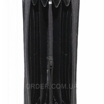 Женский кошелек из кожи ската (ST 11 Black)