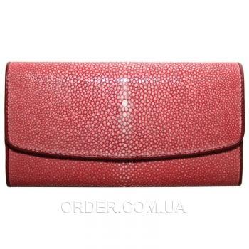 Женский кошелек из кожи ската (ST 52 SA Red)