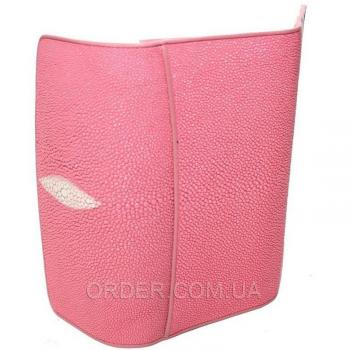 Женский кошелек из кожи ската (ST 52 Pink)