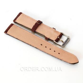 Ремешок для часов из кожи ската (STWS 01 Brown)