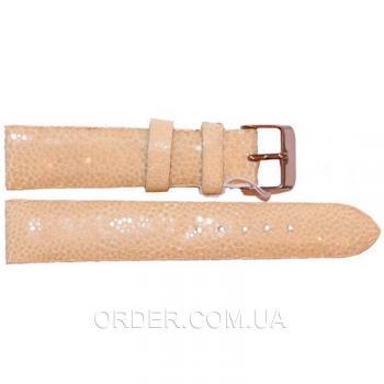 Ремешок для часов из кожи ската (STWS 04 SA Beige)