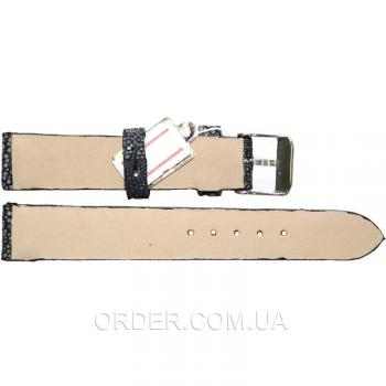 Ремешок для часов из кожи ската (STWS 04 SA Black)