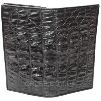 Купюрник из кожи крокодила (CL 24 Black)