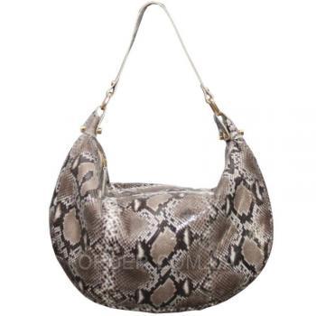 Женская сумка из кожи питона (PT 828 Natural)