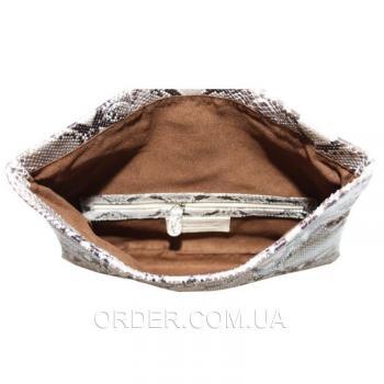 Женская сумка из кожи питона (PTC 105 Natural)