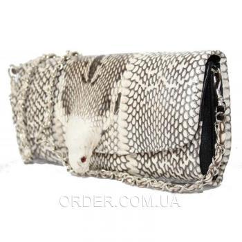 Женская сумка из кожи питона (CBC 101 Natural)