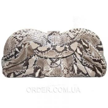 Женская сумка из кожи питона (PT 099 Natural)