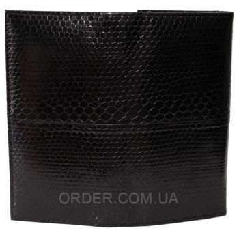 Женский кошелек из кожи морской змеи (SN 53 Black)