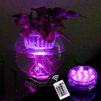 LED подставка для подсветки с пультом
