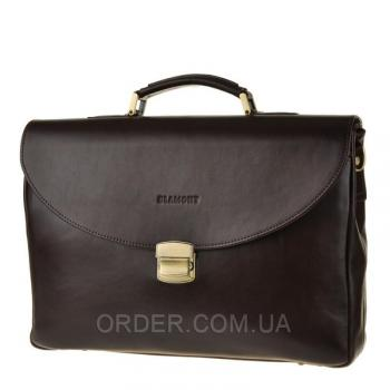 Мужской кожаный портфель Blamont (Bn045C)