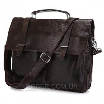 Мужской кожаный портфель TIDING BAG (6057J)