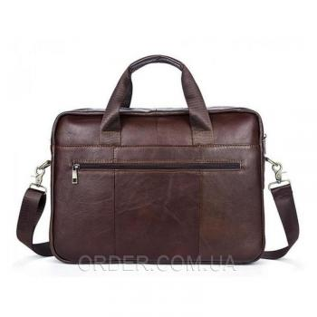 Коричневая мужская кожаная сумка Bexhill (Bx1127C)