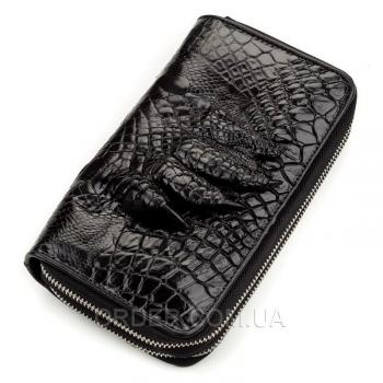 Кошелек-клатч из натуральной кожи крокодила (18174)