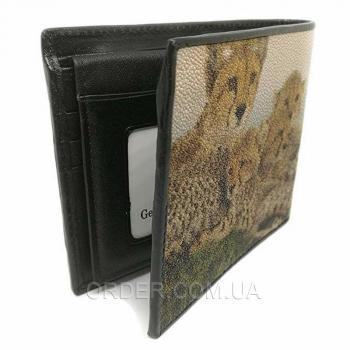 Мужской кошелек из кожи морского ската (18132)