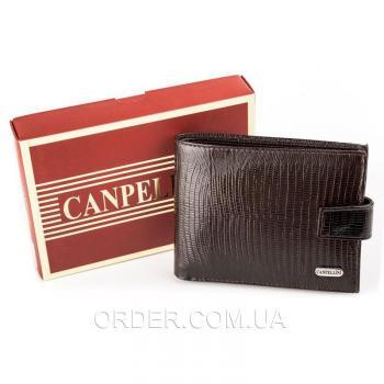Мужской кошелек из кожи CANPELLINI (17037)